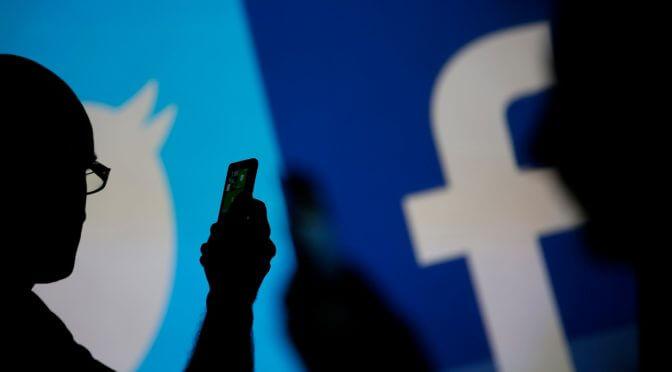 Роскомнадзор возбудил административные дела против Facebook и Twitter