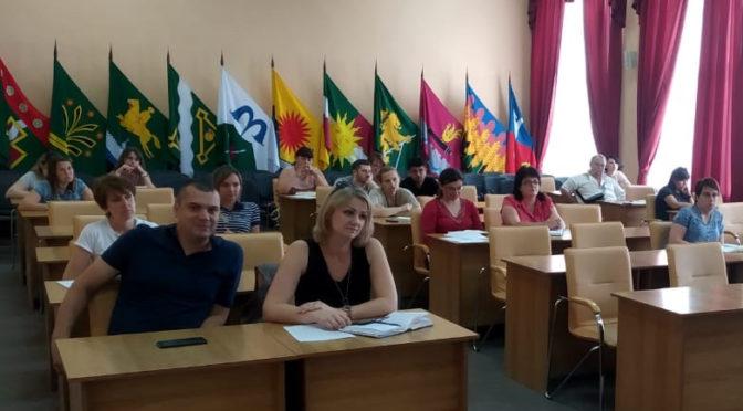Обучающий семинар для руководителей Северского района